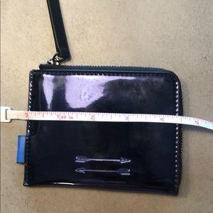 😎 URI Minkoff x JR blue metallic wallet